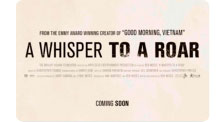 "Proyección del documental ""A whisper to a roar"""