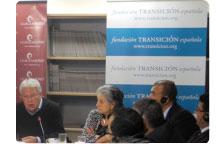 Una delegación libia visita la Fundación Transición