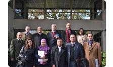 Delegación egipcia en Chile
